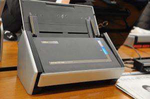 Fujitsu Scansnap scanner